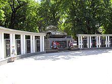 Т-34 — ОТ-34, памятник в Симферополе