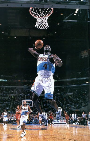 Shawn Kemp Cleveland Cavs