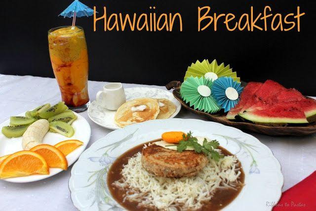 Ribbon's to Pasta's: Hawaiian Breakfast
