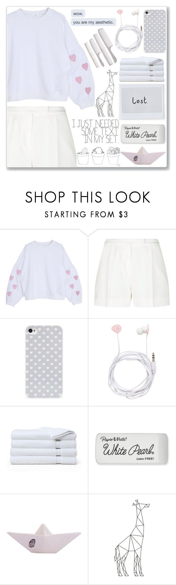 """Secretly Watching Videos Late At Night Without Your Parent Knowing"" by amber-mistry ❤ liked on Polyvore featuring Elie Saab, BlissfulCASE, Forever New, Brooks Brothers, Paper Mate and NOVICA"