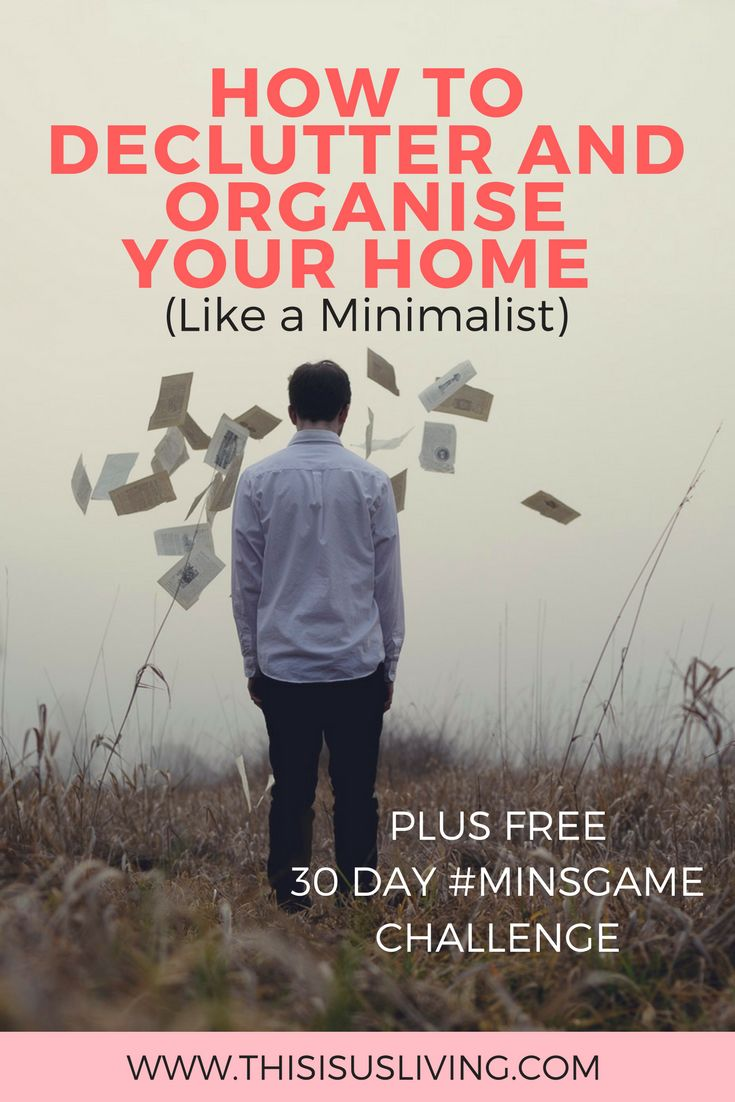 How to Declutter and Organise Your Home Like a Minimalist