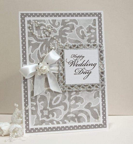 The 25+ best Wedding cards handmade ideas on Pinterest   Wedding ...