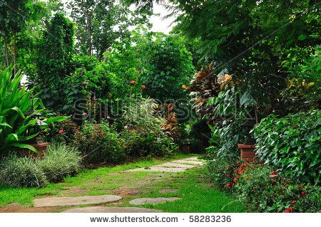 Stock Images similar to ID 110216744 - landscaping in the garden. the...
