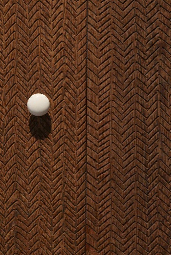 Subtle patterning detail in Nobis Hotel / Architects: Claesson Koivisto Rune / Location: Stockholm, Sweden