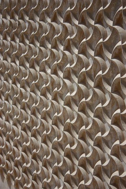 Bahrain National Museum Wall Detai