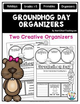 Is your class learning about Groundhog Day?Groundhog Day is a yearly tradition held on February 2nd where a groundhog, named Punxsutawney Phil, predicts how long winter will last. Celebrate this special holiday with this creative and interactive pack!