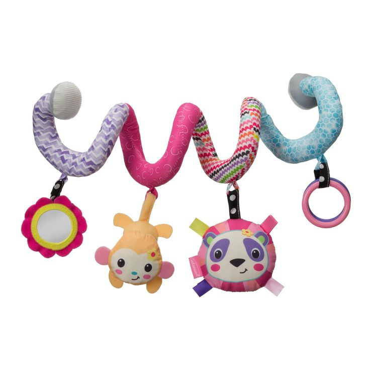 Spiral Activity Toy™ - Pink Panda