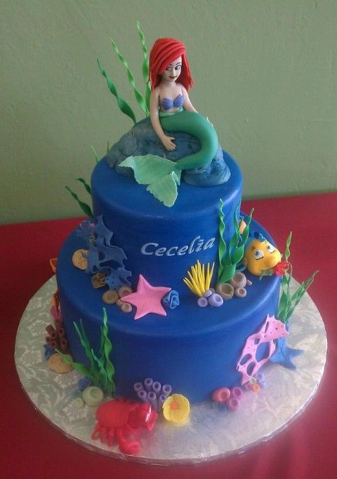 Ariel cakes | ... cake and some examples are the Ariel image cake and Ariel doll cake