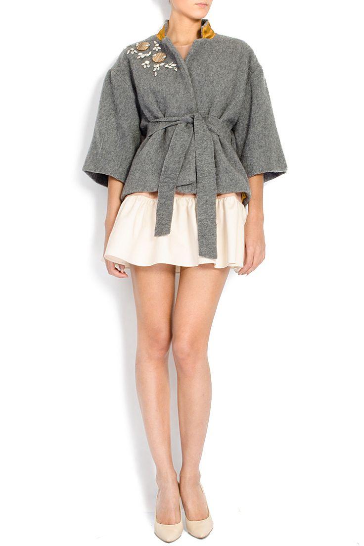 ATU Body Couture   Jacheta din lana Sycamore   WE LOVE COUTURE