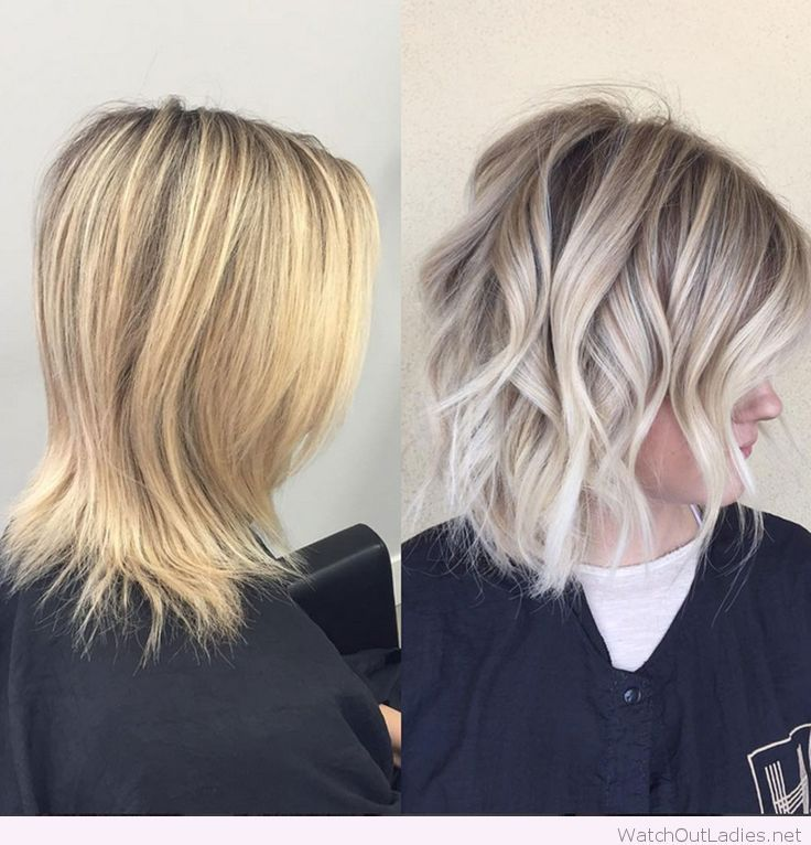 Yellow blonde to lived-in sombre look