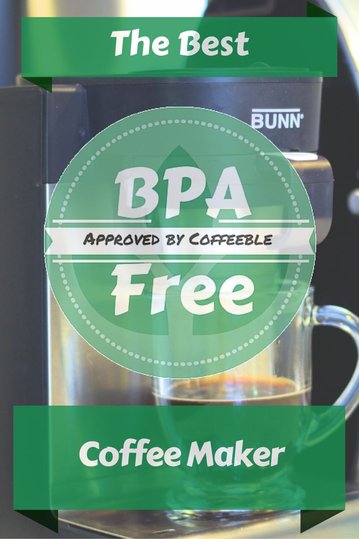 My BPA Free Coffee Maker Buying Guide for you to find the best Bisphenol A or plastic free coffee maker.Get important facts about BPA used in coffee makers.