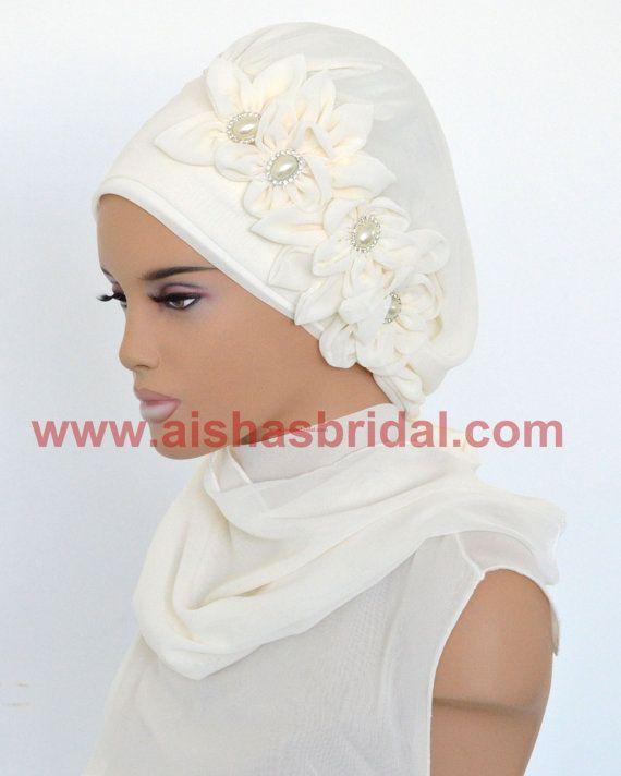 Ready To Wear Hijab  Code: HT-0206 Hijab Muslim by HAZIRTURBAN