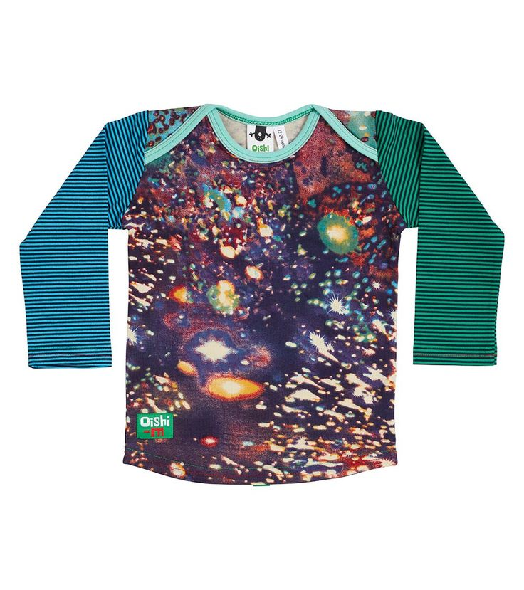 Galaxy LS T Shirt, Oishi-m Clothing for Kids, Autumn 2018, www.oishi-m.com