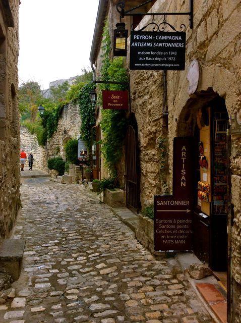 Les Baux de Provence レ・ボー・ド・プロヴァンス