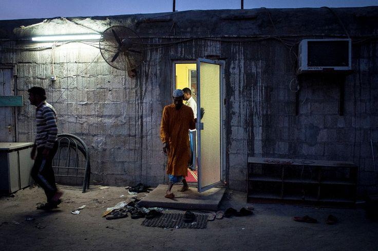 migrant worker's prayer room - Gulf region - Photo by Stefanistan