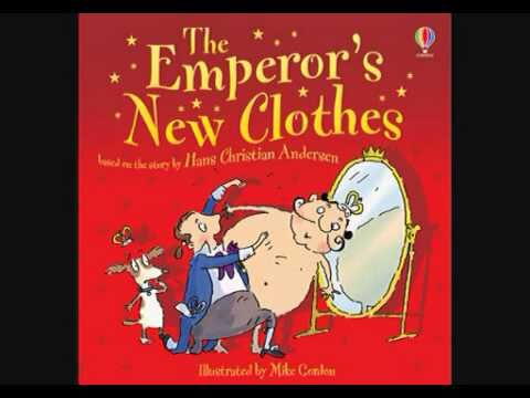 Keisarin uudet vaatteet -satu luettuna.