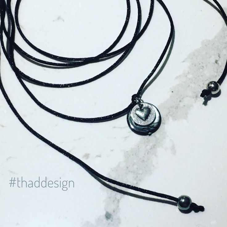 Love this cord wrap choker, definitely one of my faves! ❤️   #choker #necklace #thaddesign