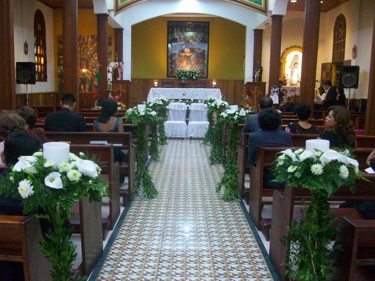 decoracion de iglesia para bodas cristianas evangelicas