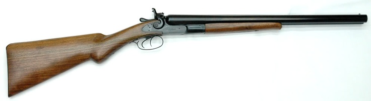 """A coach gun is a double-barrel shotgun, generally with barrels approximately 18"""" in length placed side by side (SxS). The name comes from the use of such shotguns on stagecoaches by shotgun messengers in the American Wild West and during the Colonial period of Australia."""