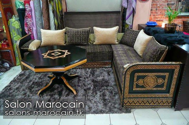 25 best ideas about salon marocain traditionnel on. Black Bedroom Furniture Sets. Home Design Ideas