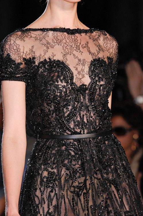 Ellie Saab Fall 2012 Detail from Elie Saab Fall 2012-2013 Couture.