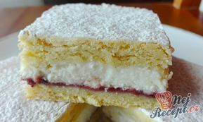 Linecký tvarohový koláč s pikantní marmeládou | NejRecept.cz