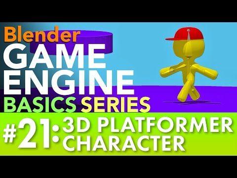 Blender Game Engine Basics Tutorial #21: 3D Platformer Character #b3d #gamelogic https://i.ytimg.com/vi/3i9xu46uyVM/hqdefault.jpg
