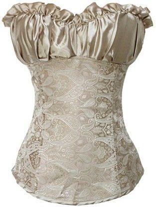 The Violet Vixen - Brocade Renaissance Creamy Ivory, $39.99 (http://thevioletvixen.com/corsets/creamy-ivory-renaissance-corset/)