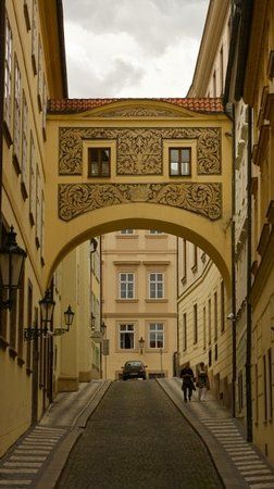 Mala strana district - shops and beautiful alleys