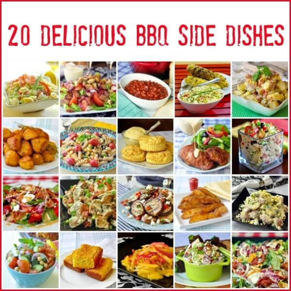 20 Best Barbecue Side Dishes - so much to choose from! From cornbread to potato salads, baked beans & beyond; make your next backyard BBQ something special.