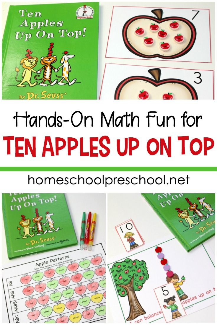 Free Preschool Printables for Your Math activities