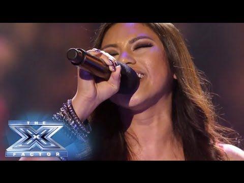 """▶ Ellona Santiago Has A Moment of """"Clarity"""" - THE X FACTOR USA 2013 - YouTube"""