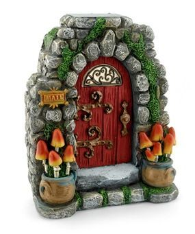 Mushroom Meadow Solar Fairy Door Price $31.99