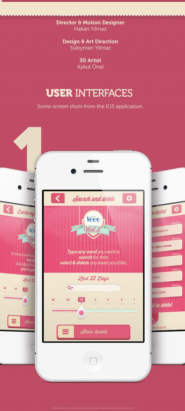 Veet it on Behance