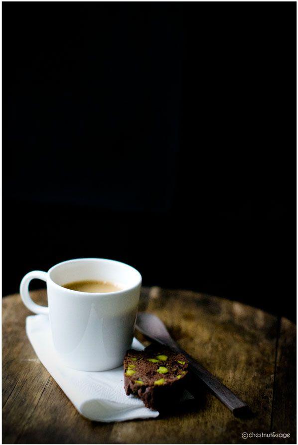 Schokoladen-Cantuccini mit Pistazien und Fleur de Sel: Mein letzter Beitrag zur Cooketition - Chestnut & Sage
