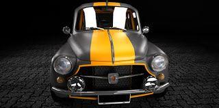Mis Modelos 3D: Fiat 600 - Prototipo 612