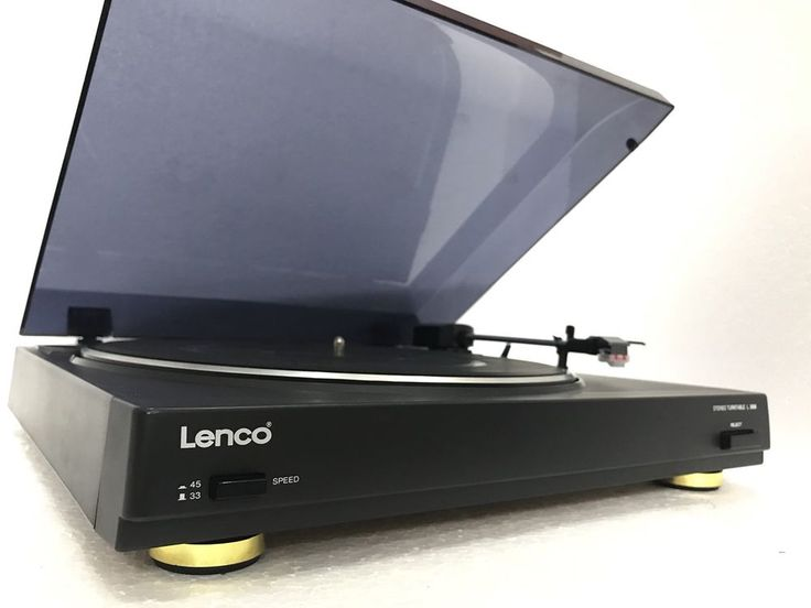 LENCO L-3806 Stereo Belt Drive Turntable Vintage Working Perfect Like NEW | eBay