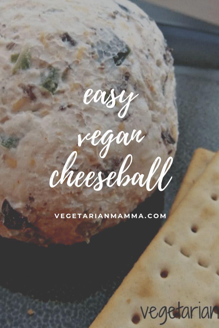 Enjoy This Amazing Vegan Cheeseball It S Made With Dairy Free Cream Cheese It S Gluten Free And Fixes Your C Cheese Ball Dairy Free Cheese Vegan Comfort Food