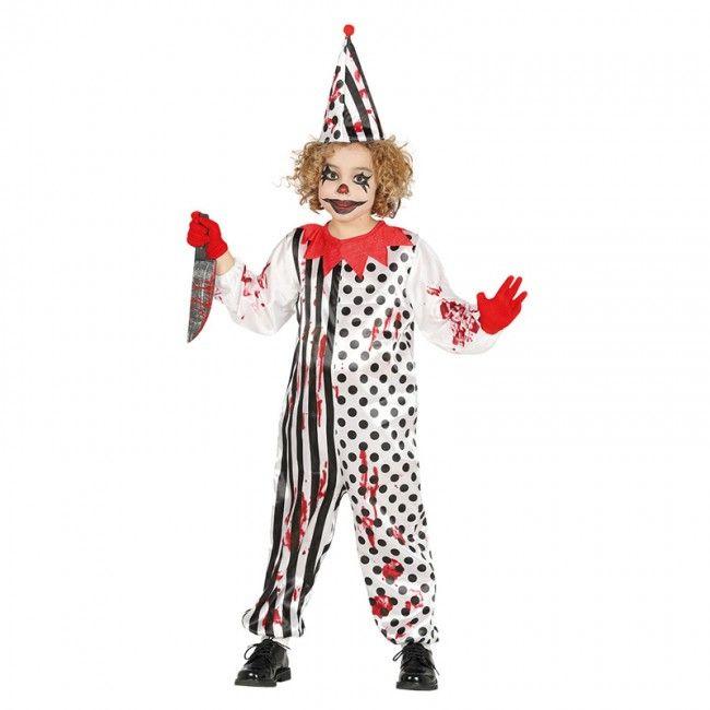 Disfraz de Payaso Asesino infantil #disfraces #carnaval #novedades2017