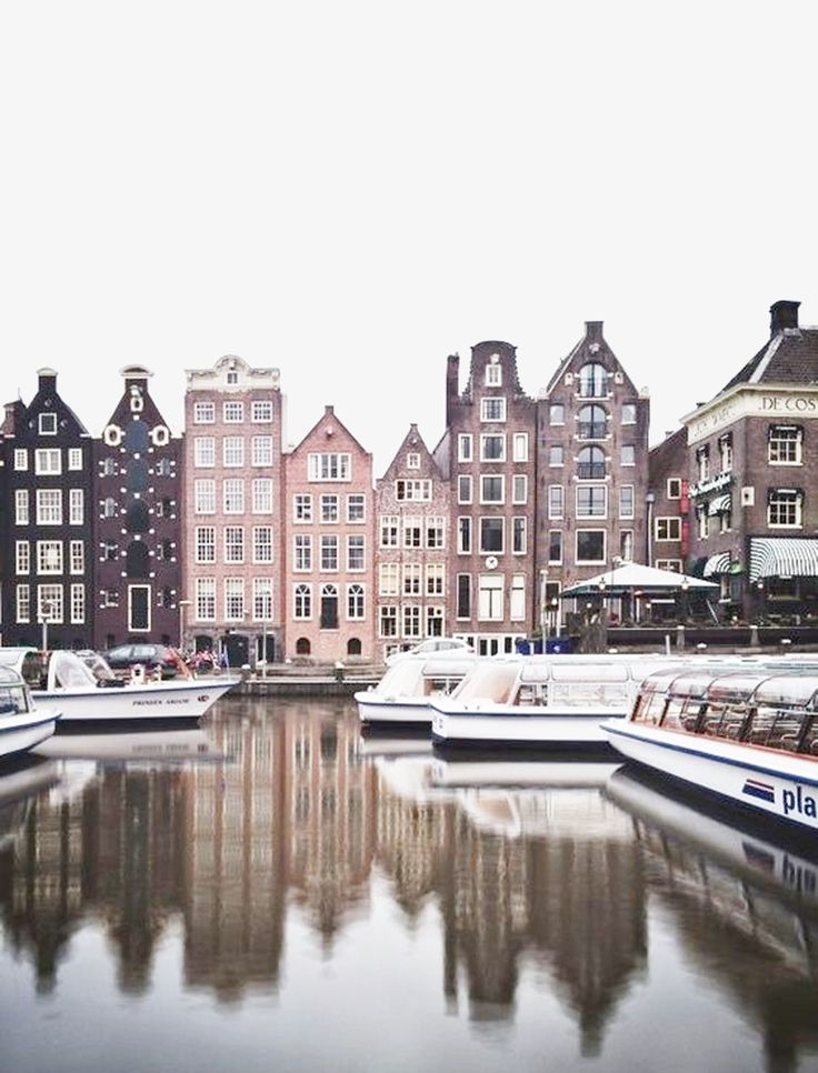 Urban Landscape photography | From the water | Amsterdam, The Netherlands