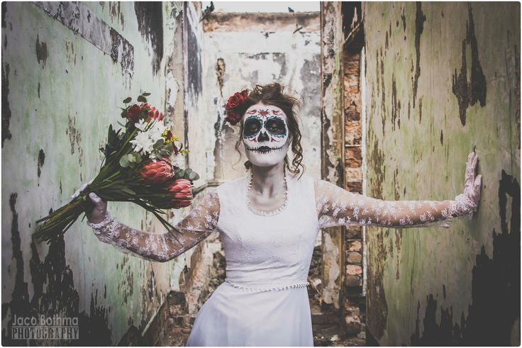 #dayofthedead #diadelosmertos #flowers  #fashion #facepaint #sugarskull