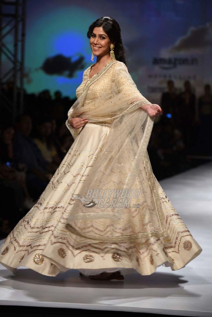Sakshi Tanwar at Amazon India Fashion Week Autumn/Winter 2017 on March 17, 2017
