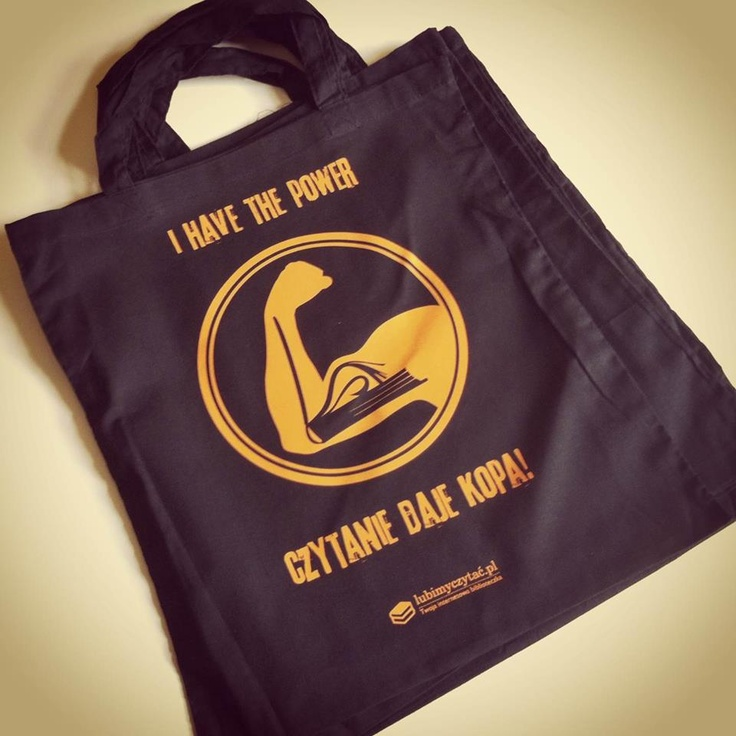 bag. books. I have the power