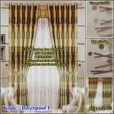 Gorden blackout bahan liverpool. Blackout curtain liverpool
