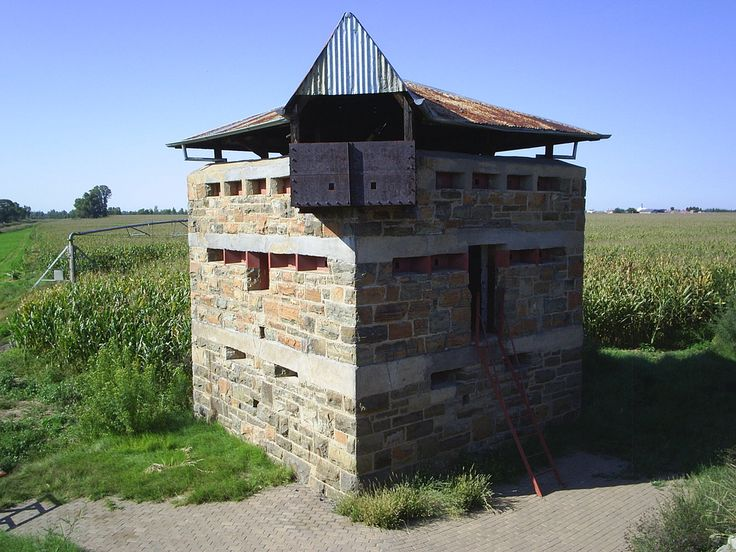 Riet River Blockhouse from the Railway Line