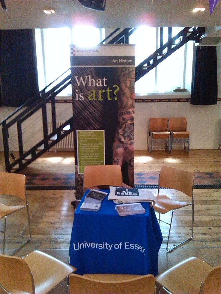 Art History Higher Education Fair attended by our Frontrunners.