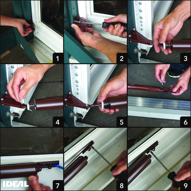 You can replace a storm door closer yourself! It's easy. Find instructions for installing a storm door closer with a torsion bar.