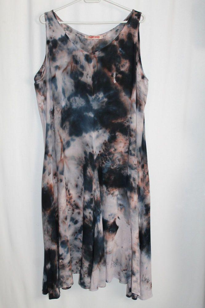 cocon.commerz PRIVATSACHEN LUKASTEN Kleid aus Viskose mit Batikmuster Gr. 2