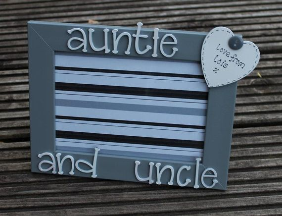 Auntie and Uncle Auntie photo frame uncle picture by scratchycat