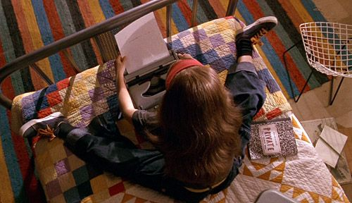 Living In: Harriet the Spy, Design*Sponge If it were to 2000's she would be typing on her laptop